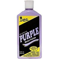 California Custom Purple Metal Polish 12 oz. Bottle