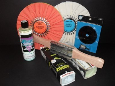 DC Super Shine Heavy-Cut Polishing Kit