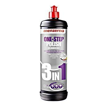 Menzerna 3 In 1 Cut, Gloss, Wax (M-3in1Q; 32 oz. btl.)