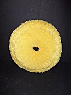 Yellow Twisted 40/60 Wool/Acrylic Polishing Pad