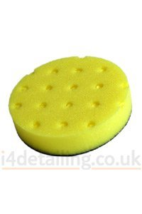 CCS Yellow Foam Heavy-Duty Compound Pad