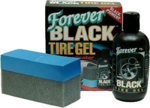 Forever Black Tire Gel and Foam Applicator