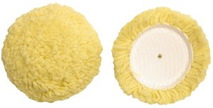 Yellow Wool & Synthetic Micro Polishing Pad