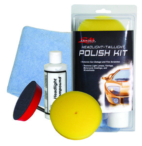 Headlight and Taillight Polish Kit