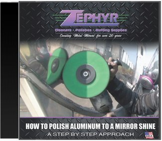 Zephyr How to Polish Aluminum to a Mirror Shine Video