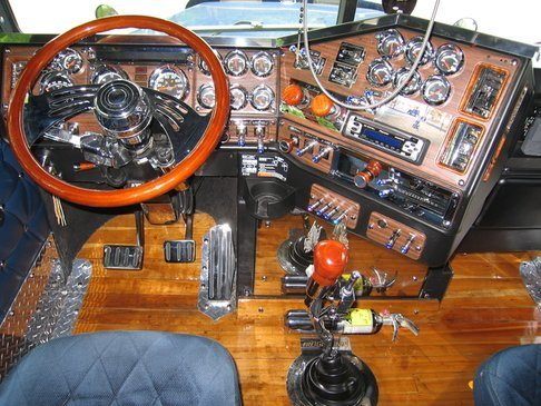 1999 freightliner customized and detailed by stephane for Interieur western star