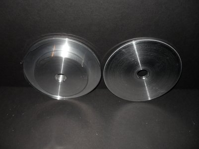 Aluminum Quickcenter, Self-Centering Safety Flange Set