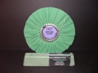 "Signature Series 10"" Smooth Kut Buffing Wheel with Green Moss Rouge Bar"