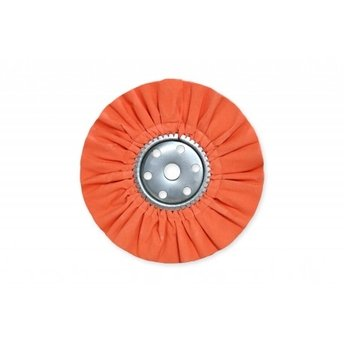 "14"" x 5"" Orange Mill Treat Industrial Airway Buffing Wheel (Case of 12)"