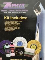 "Super Shine Kit with 8"" Buffing Wheels"