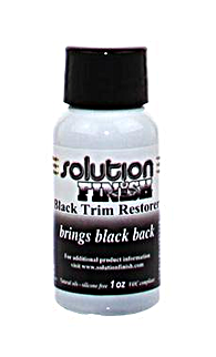 Solution Finish Black Trim Restorer (1 oz. btl.)