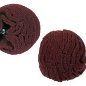 Maroon Industrial Scuff Ball (4″, 180 Grit)