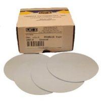 Uneeda 6″ Solid Hook & Loop Sanding Discs, 80 Grit; 100 Discs