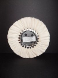 "8"" High Luster Canton Flannel Buffing Wheel (X-Soft)"