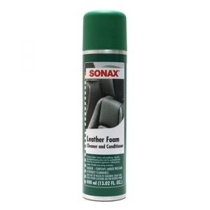 Sonax Leather Foam Cleaner and Conditioner (13.12 oz. Spray Can)